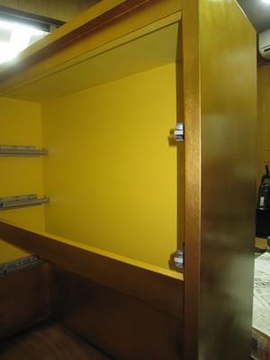 店舗内装 総金箔 什器製作