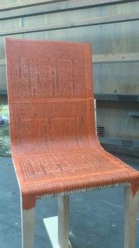 漆塗り プロダクトデザイン 椅子
