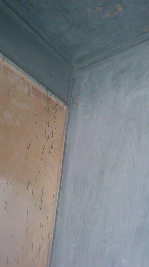 建設現場 漆塗り 下地