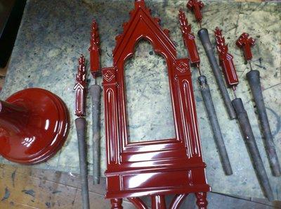 京都河原町教会 漆塗り製品 修理