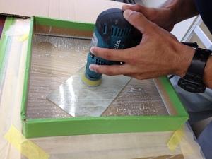 河原町三条教会 漆塗り製品 ガラス修理